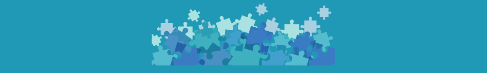 image of puzzle pieces all coming together as a metaphor for digital fundraising working with other efforts