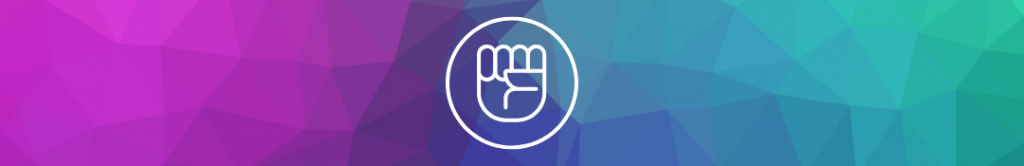 icon of a hand symbolizing empowerment