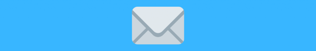 Image of an envelope, related to crowdfunding campaign email updates